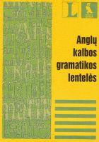 Anglų kalbos gramatikos lentelės