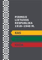 Pirmoji Lietuvos respublika 1918–1940 m. Kas, kur, kada?