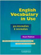 English Vocabulary in Use. Pre-Intermediate and intermediate